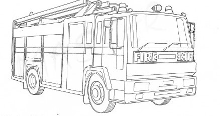 Fire engine colouring
