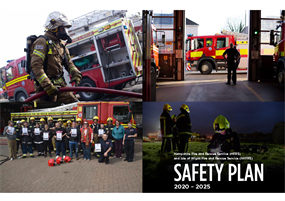HFRS IWFRS Safety Plan 2020 2025 cover page