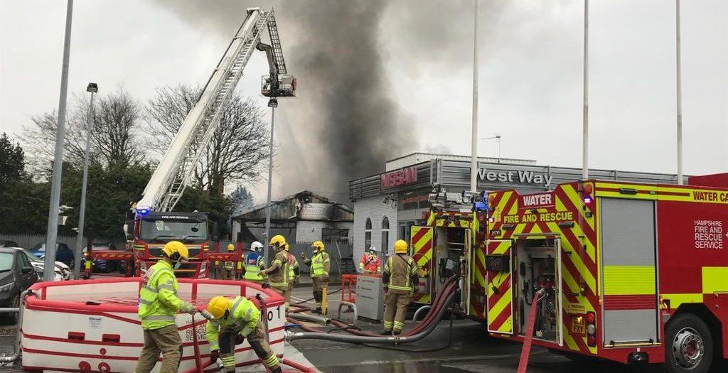 Redbridge fire