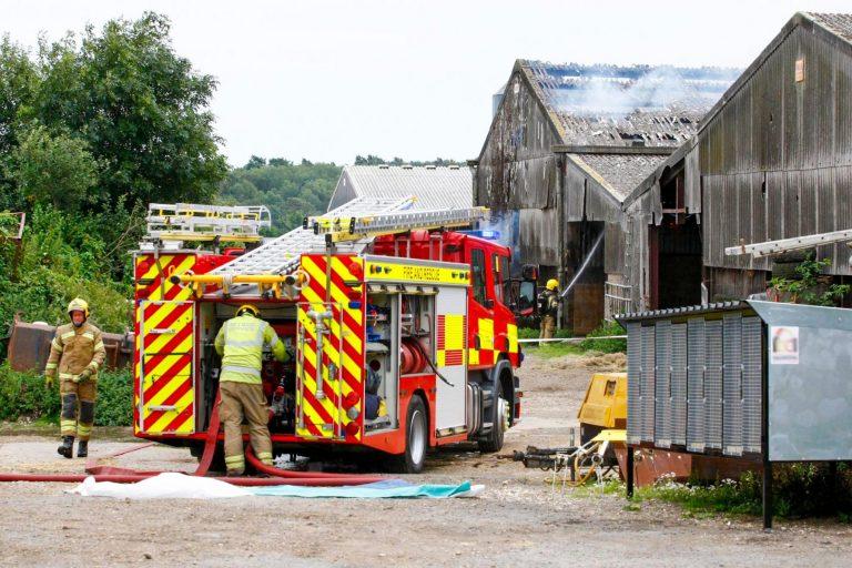 Ryde Barn Fire 1