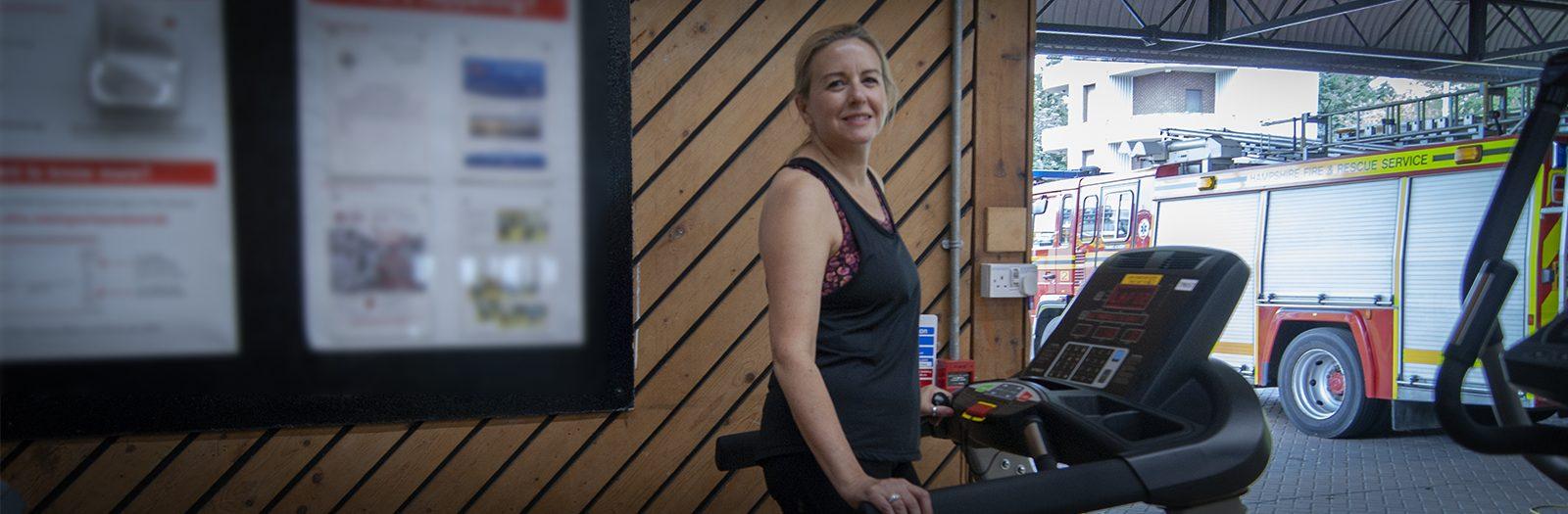 Jenna Shergold will take part in the Treadmill Challenge